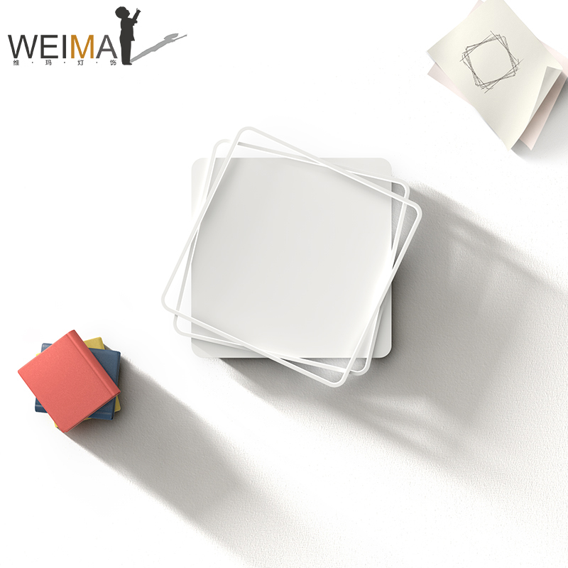 维玛 吸顶灯创意个性现代简约大厅灯饰餐厅灯大气卧室客厅灯具