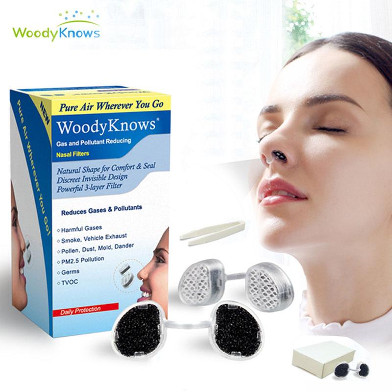 活性炭隐形口罩鼻罩防尘鼻塞过滤器