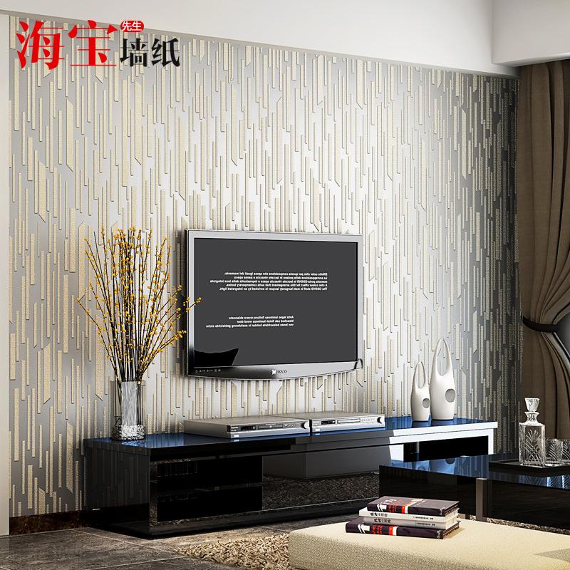 海宝竖条纹现代简约壁纸HB-FW7