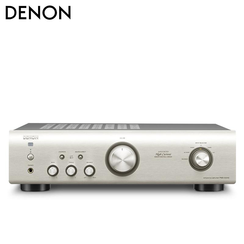 Denon-天龙 PMA-520AE 发烧hifi功放机 2.0立体声合并式音乐功放机家用hifi纯功放机进口甲乙类功放机