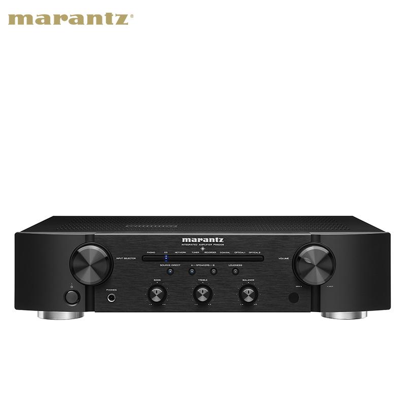 Marantz-马兰士 PM6006 hifi功放机合并式立体声专业功放机大功率发烧2.0功放机家用功放机HIFI套装KEFLS50