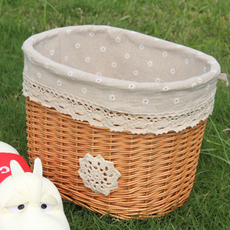 Корзина для велосипеда Wicker garden basket