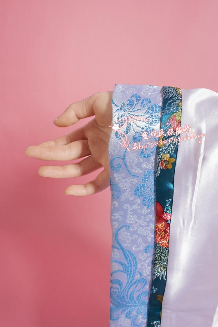 儿童古装七仙女公主裙元旦古筝演出服唐装汉服唐朝贵妃女童