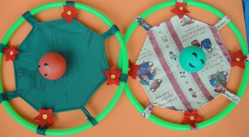 幼儿园手工制作室内户外体育游戏活动玩教具 幼儿园自制玩教具