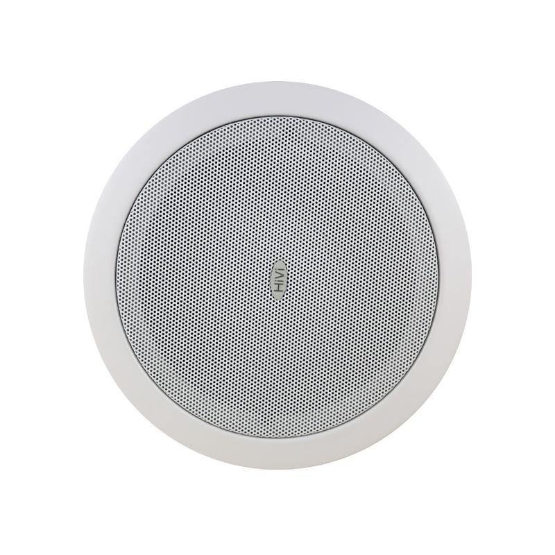 Hivi-惠威 TD206定压吸顶喇叭套餐店铺音响吊顶酒店工程嵌入音箱