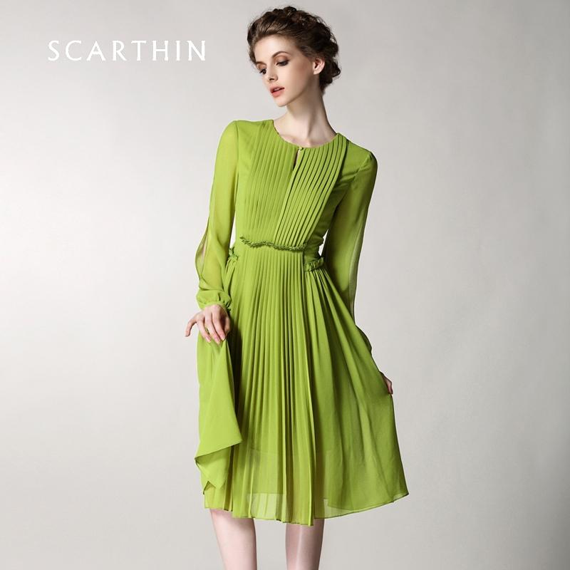 Длинные платья из легкой ткани