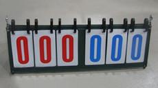 Перекидное табло 亿利专业六位数计分牌/记分器/合式翻分器/006多功能计分器8