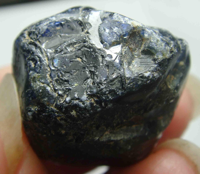 收藏佳品89克拉天然蓝宝石原石毛料标本ys109_7折现价899元