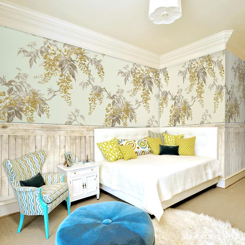 西诺大型壁画木纹墙纸BH418