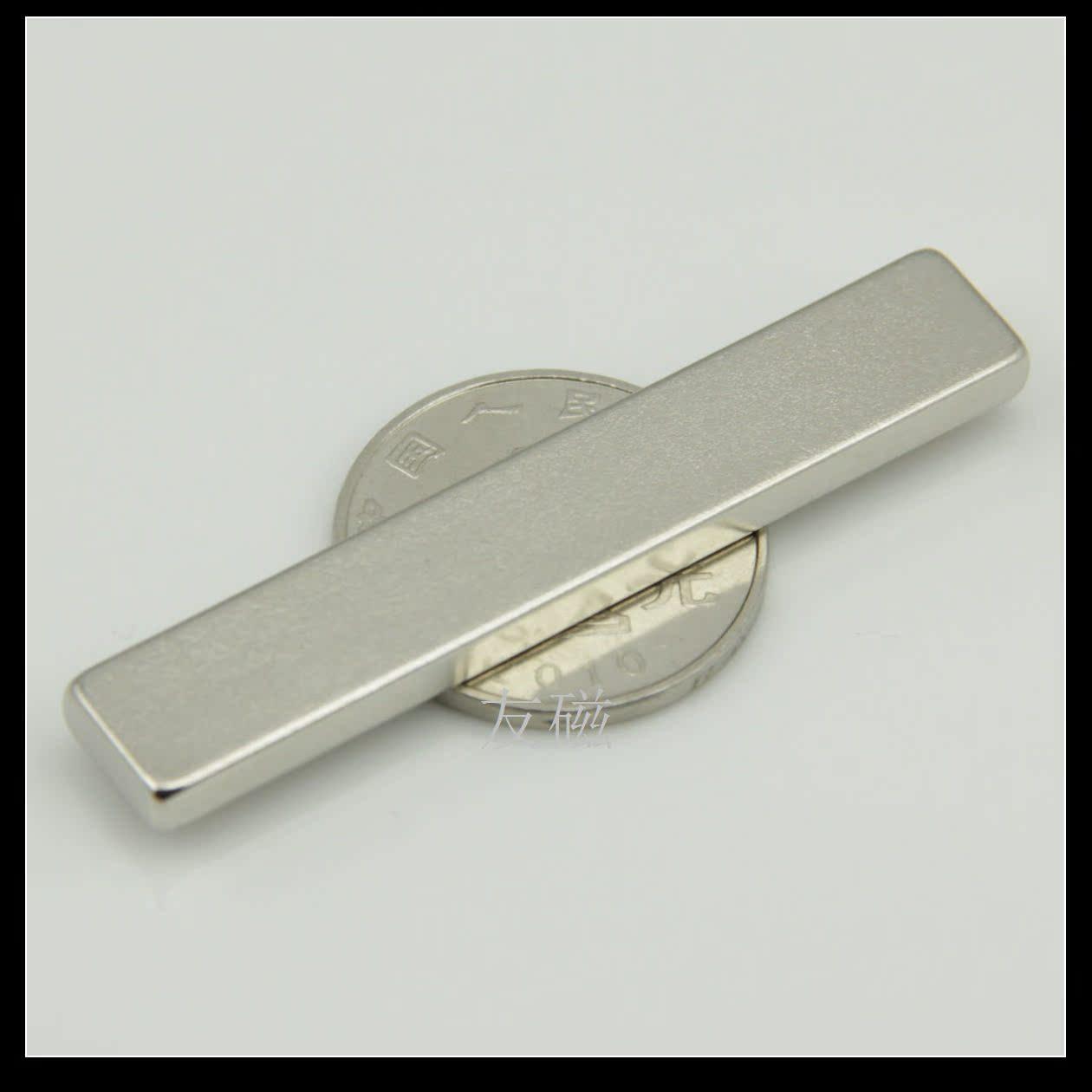 Магнитные компоненты Длинный сильный магнит магнитный магнит прямоугольник 60x10x4mm световой короб реклама интенсивности магнитной полосой