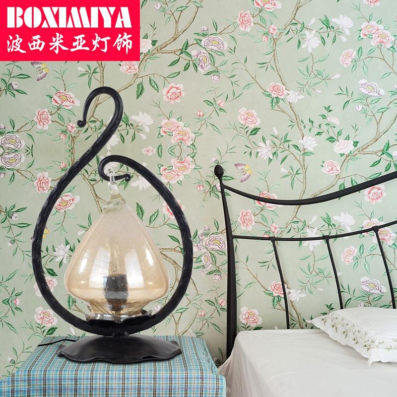波西米亚复古台灯0904