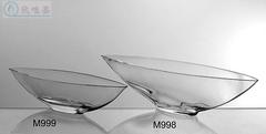 透明玻璃花瓶扁形水培器皿特色帆船摆件家居软装配饰客厅玄关摆件