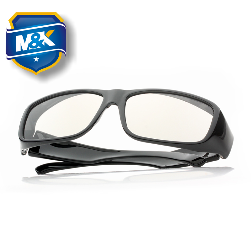 美匡大框圆偏光不闪式3d电视小米乐视通用 电影院3D立体眼镜近视