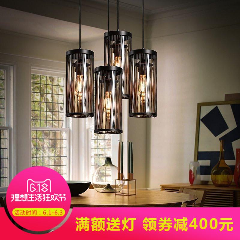 k&c美式复古灯具吊灯16-D6143-1