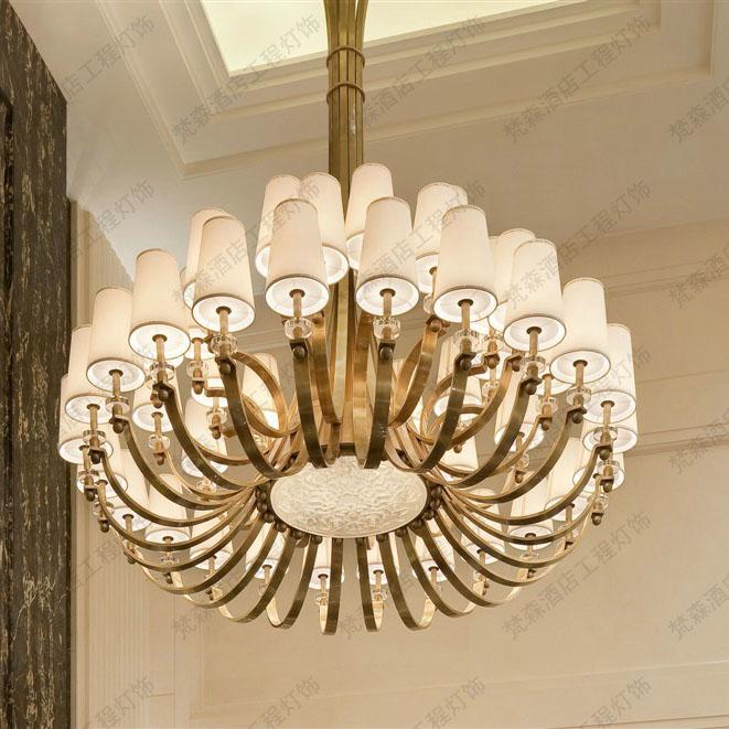 欧式别墅客厅吊灯
