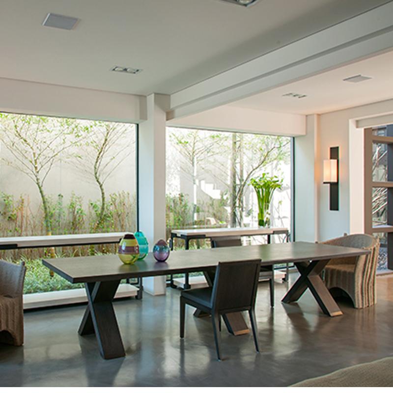 北美黑胡桃木原木大板长桌-美式乡村实木餐桌-8人10人位餐桌-书桌