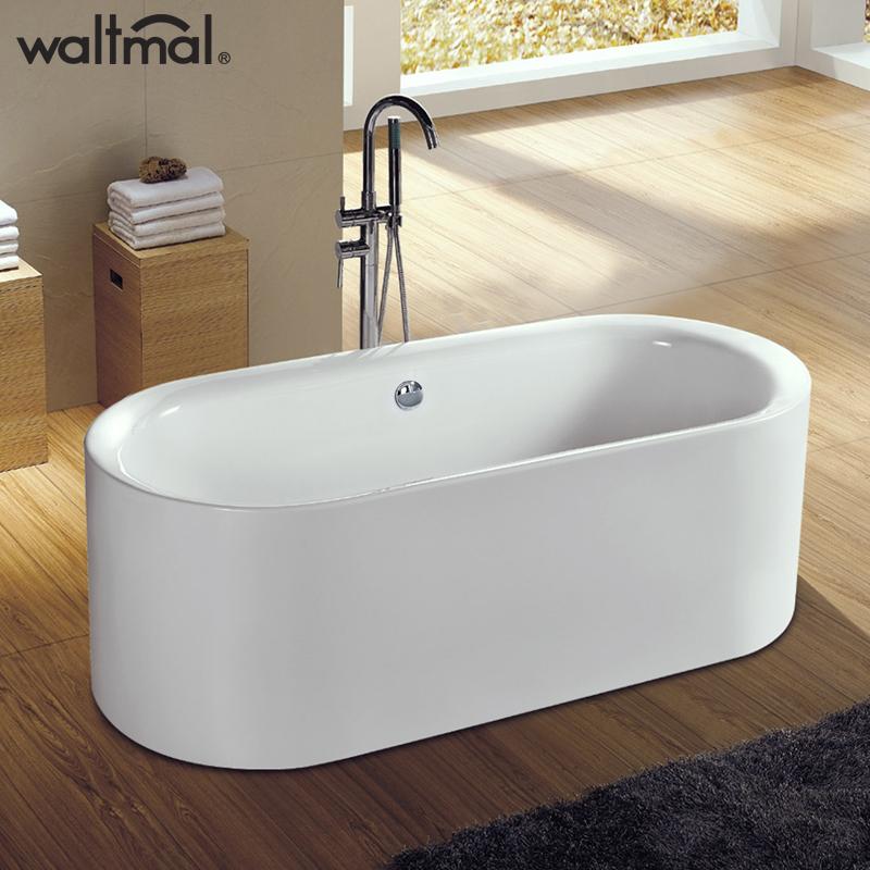 沃特玛亚克力独立式浴缸YG707