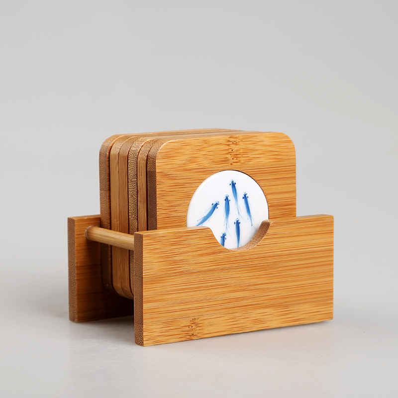 汇享茶杯垫竹制陶瓷杯垫