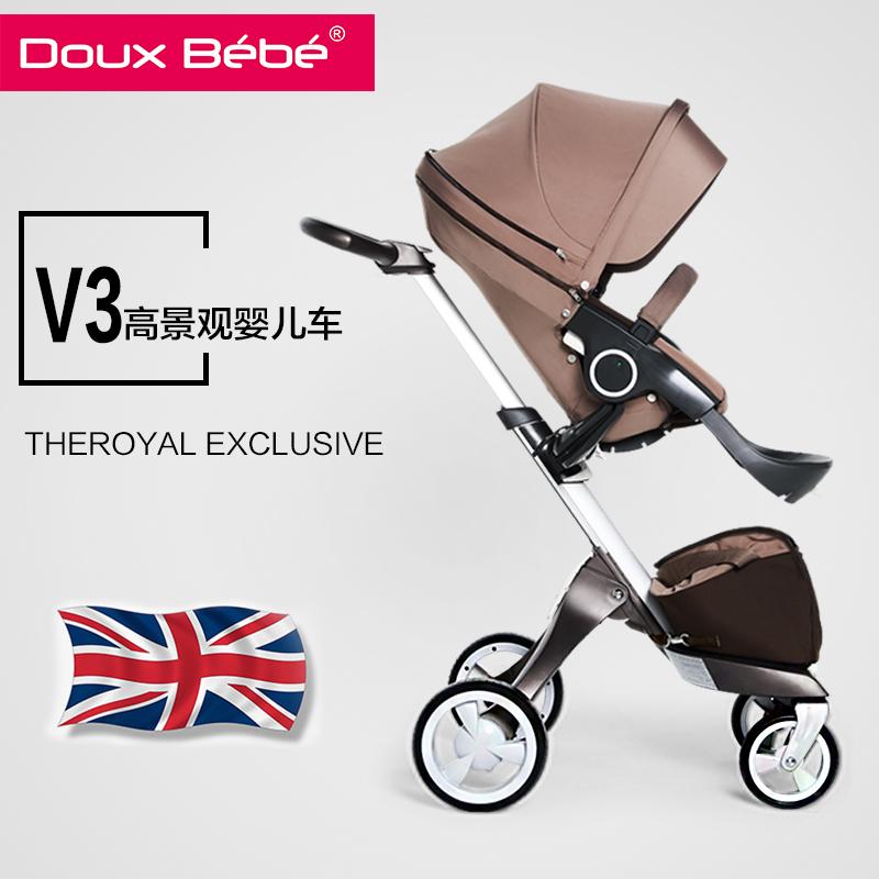 Четырёхколёсная коляска Doux Bebe  Douxbebe