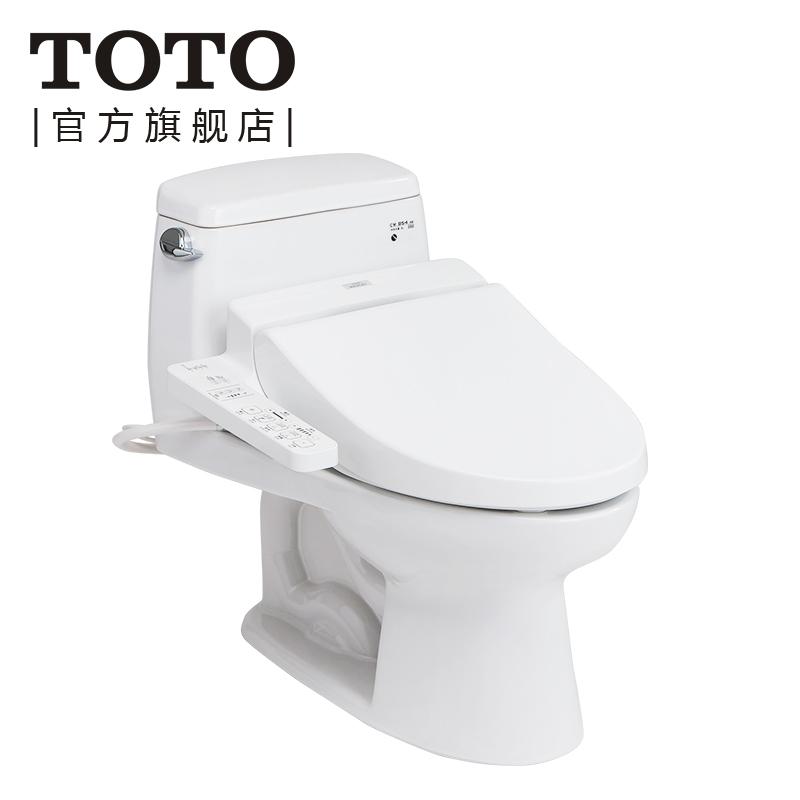 toto卫浴连体马桶cw854sb+tcf6631cs