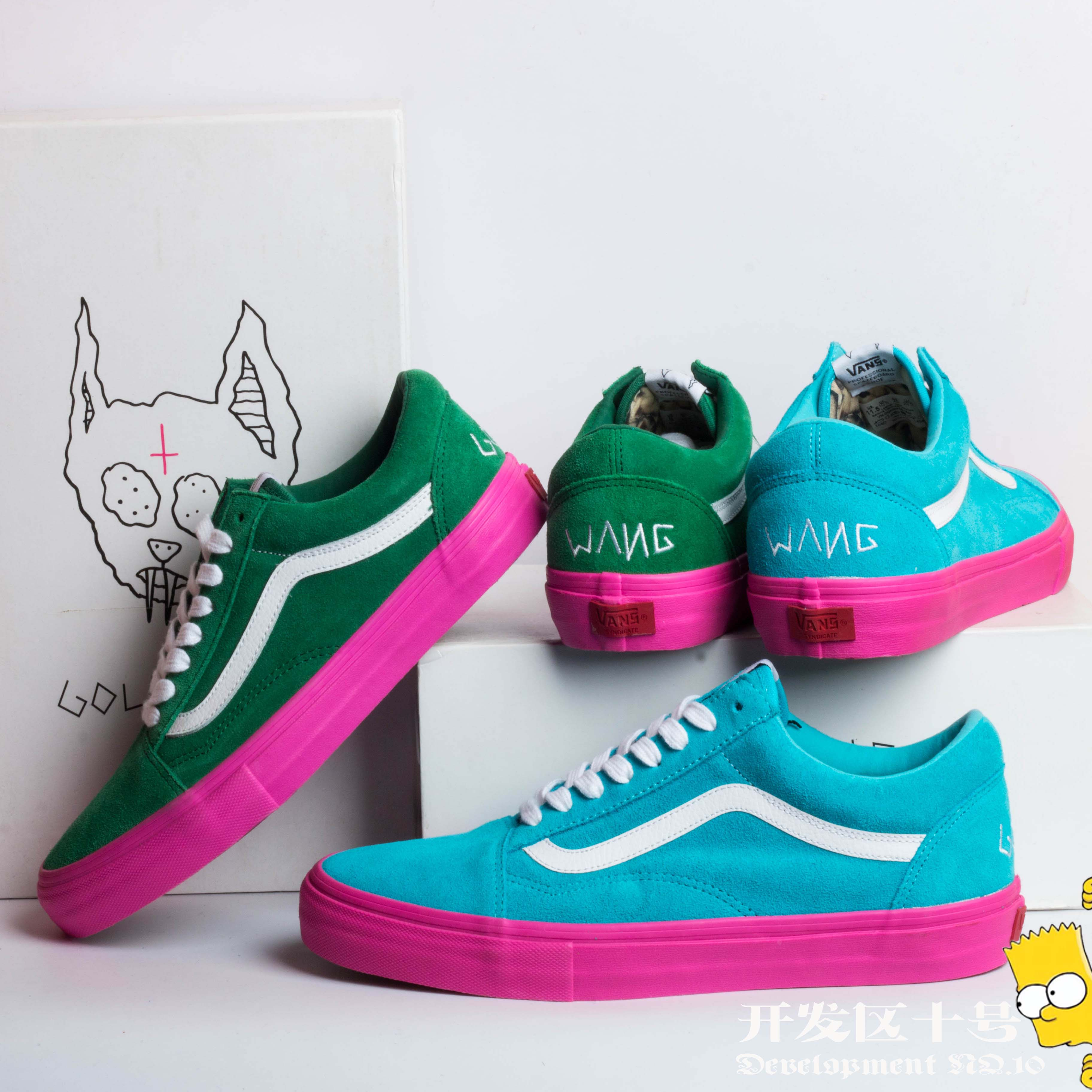кроссовки VANS Golf Wang OLD SKOOL VN-0QHMF5E