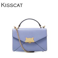 KISS CAT/接吻猫夏季韩搭斜挎包单肩链条迷你包 小方包女