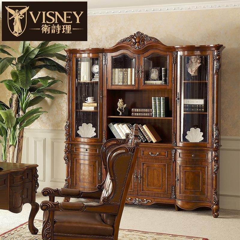 Visney欧式实木书柜 50220M2