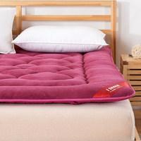 学生宿舍珊瑚绒床垫床褥子加厚 榻榻米单双人1.2m 1.5m法兰绒床垫
