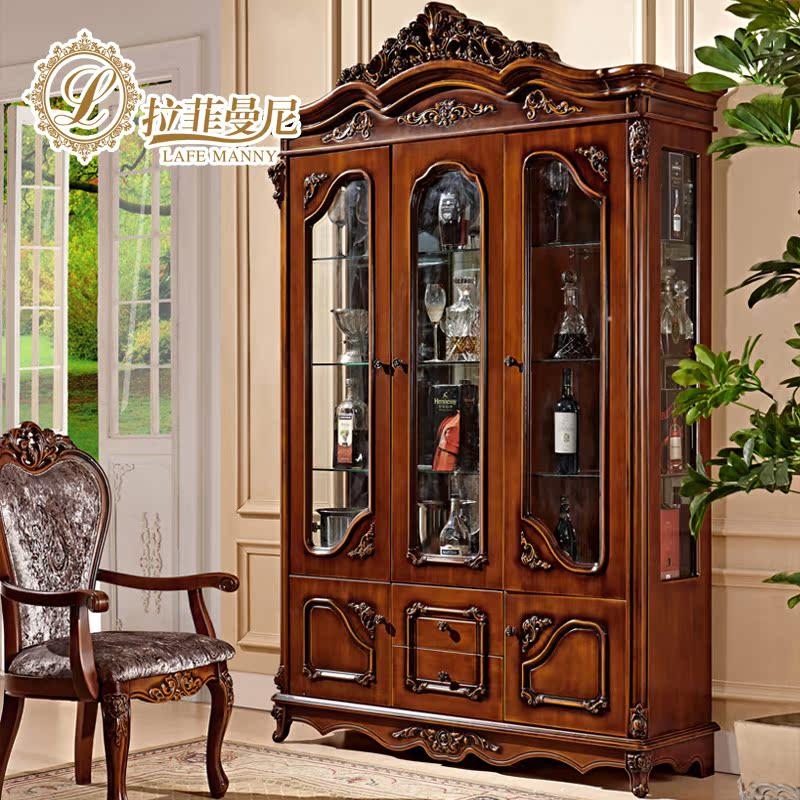 拉菲曼尼家具美式酒柜IK302