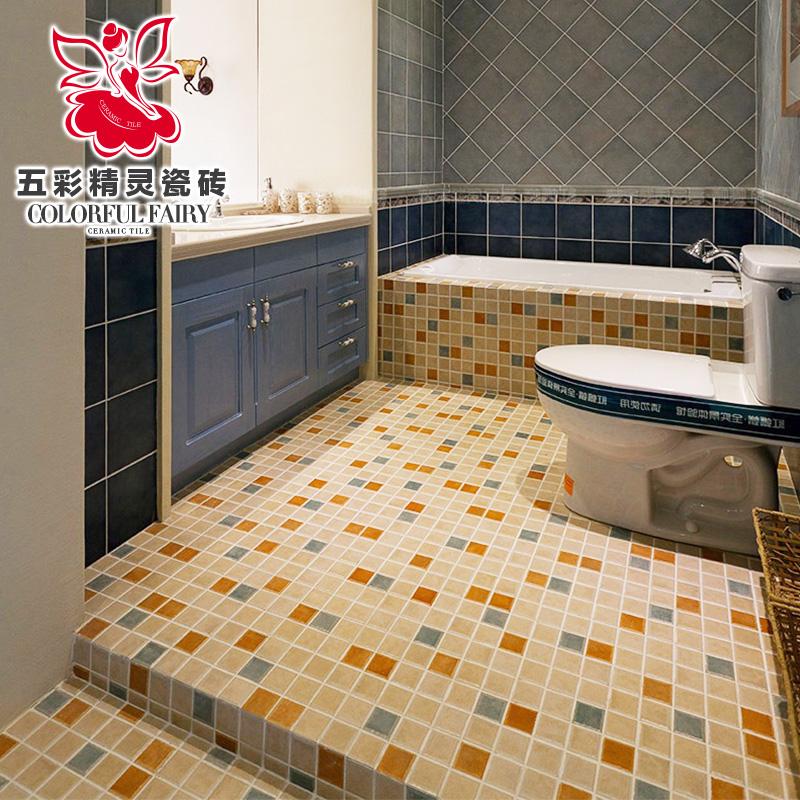 五彩精灵腰线马赛克瓷砖D16531-1
