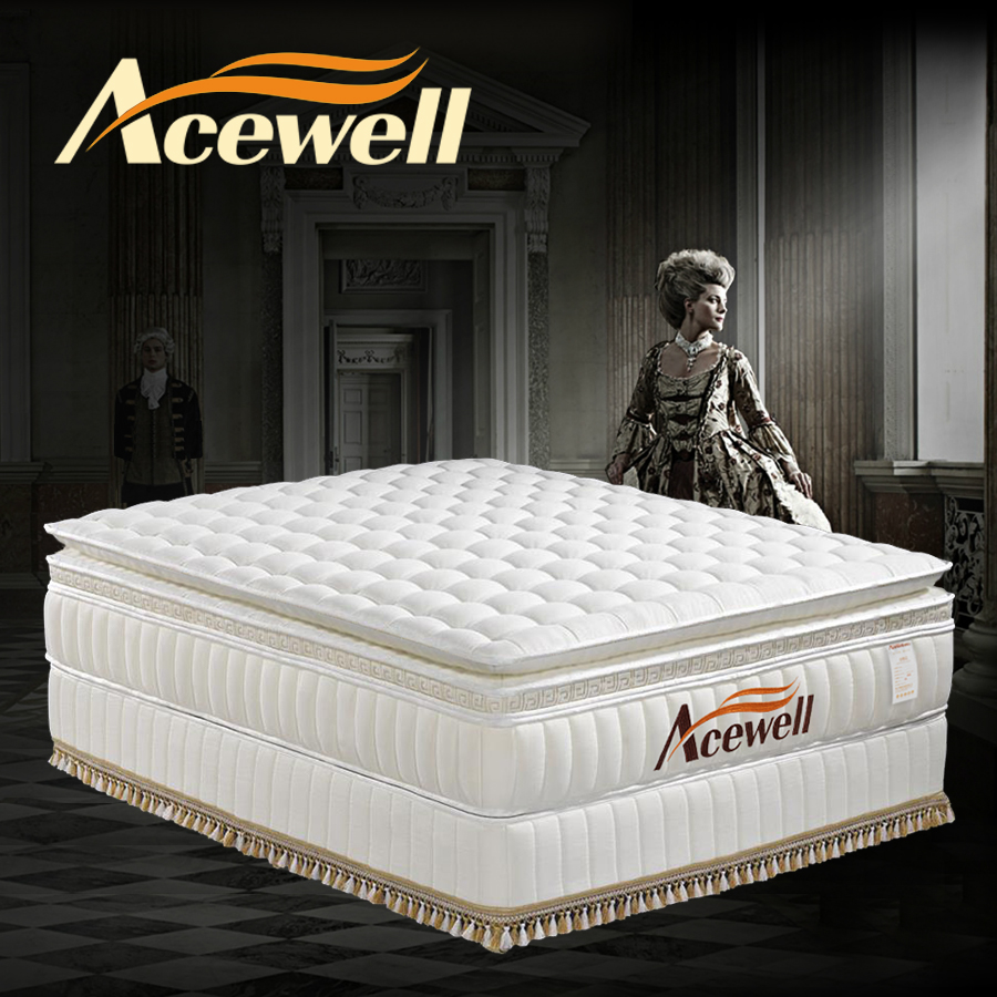 AC床垫进口乳胶床垫1.51.8弹簧3d亲水棉非椰棕席梦思床垫软硬定做