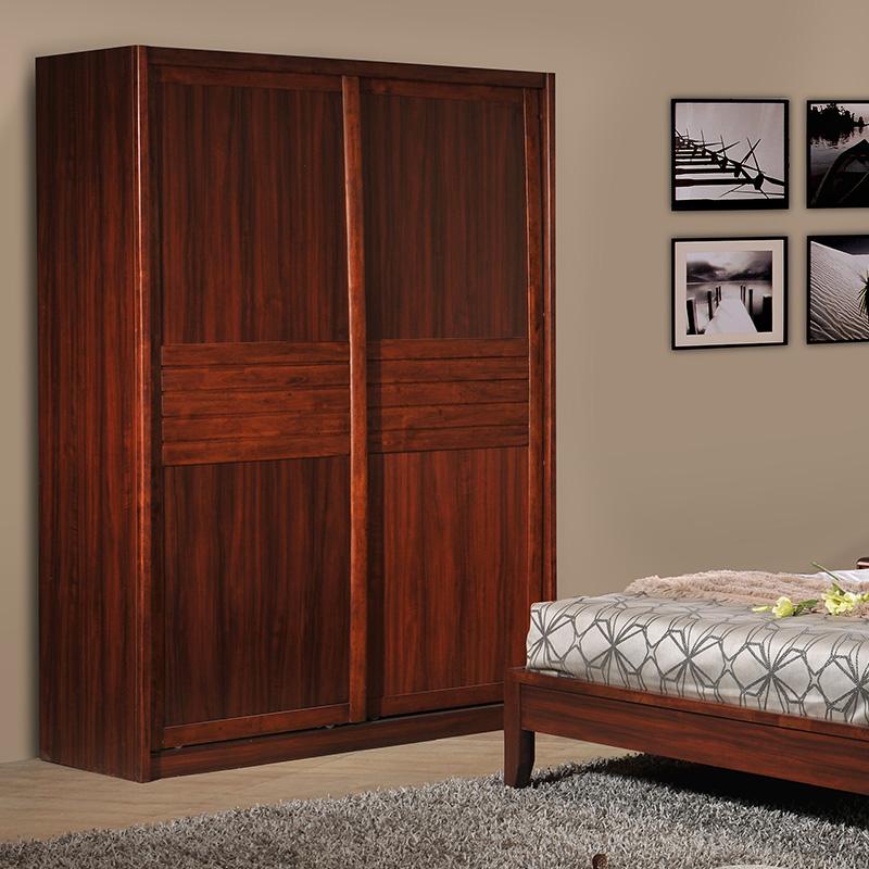 御品工匠实木整体衣柜K0214