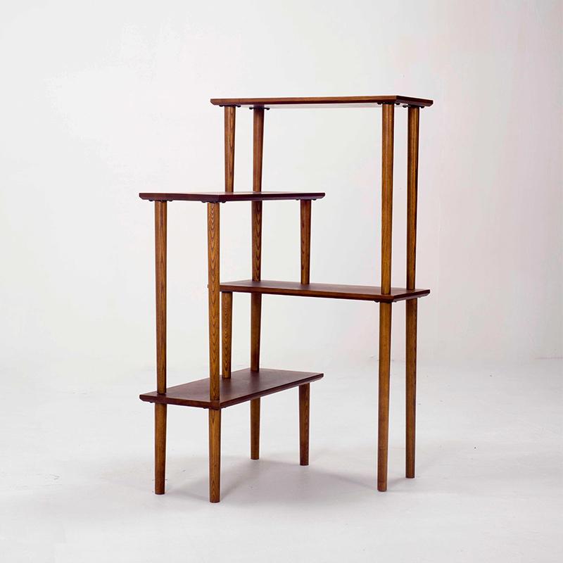 木头公园日用全实木转角书柜JA0233011