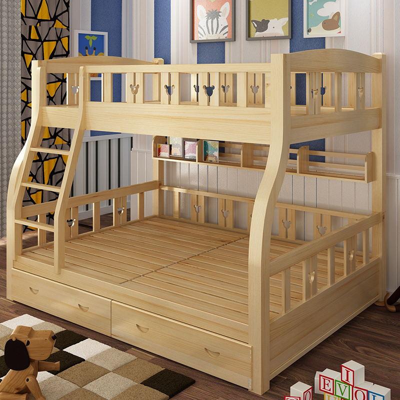 月入梦包实木儿童床0088