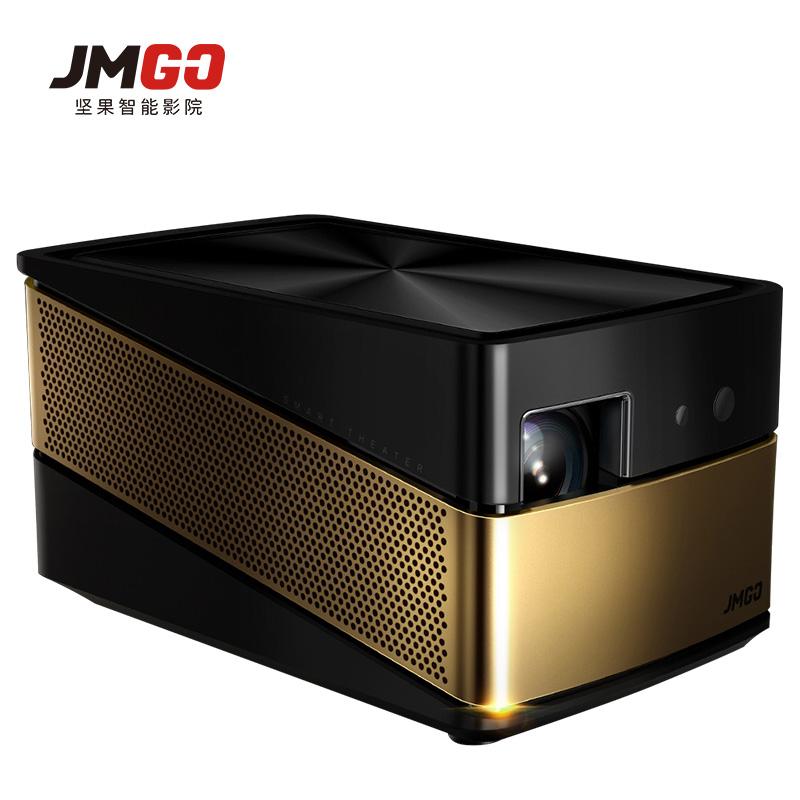 坚果绚影V8投影仪1080p高清3D家用智能影院WiFi办公投影机