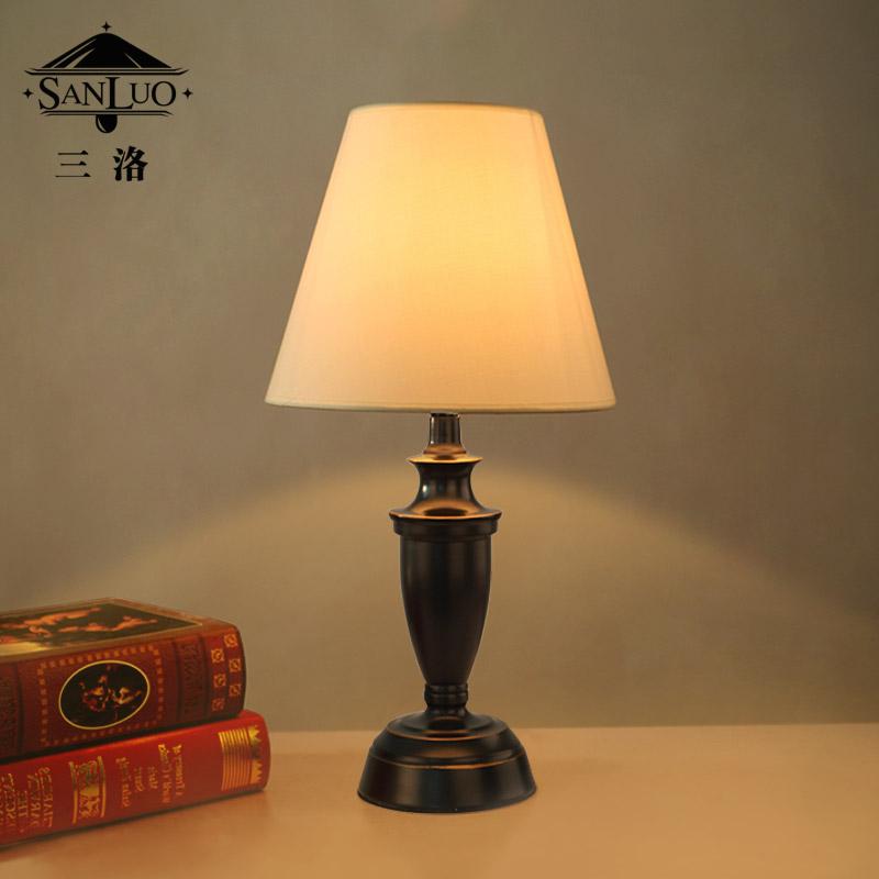 三洛美式乡村台灯T138