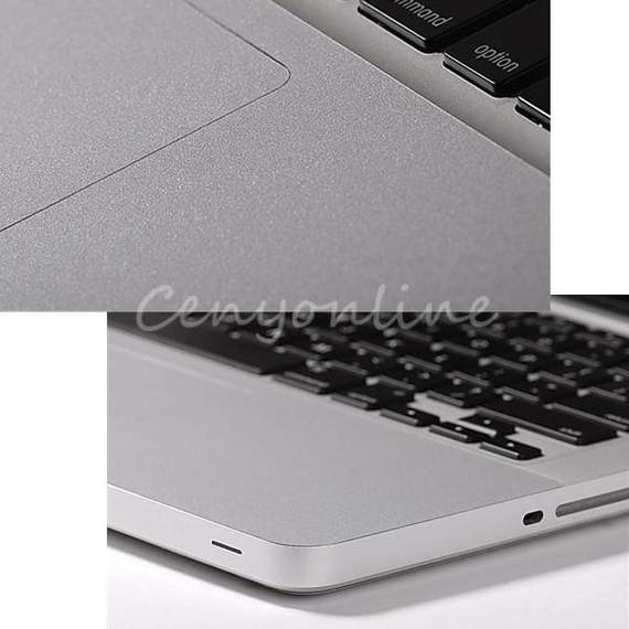 Best Quality Silver Trackpad for Palm Rest Cover Skin Protec