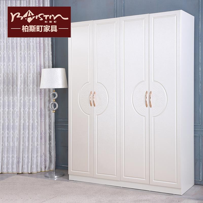柏斯町家具吸塑板式大衣柜w95
