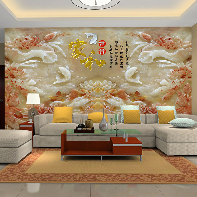 MS大型壁画纸3d立体壁纸