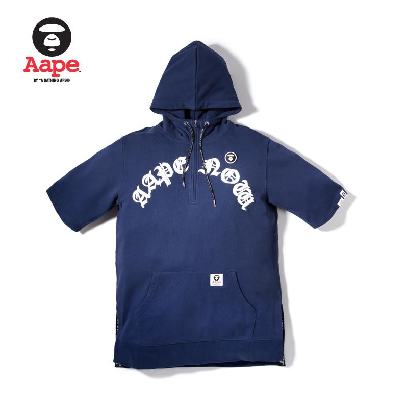 Aape男装印花套头衫卫衣T恤3321XX8-SS