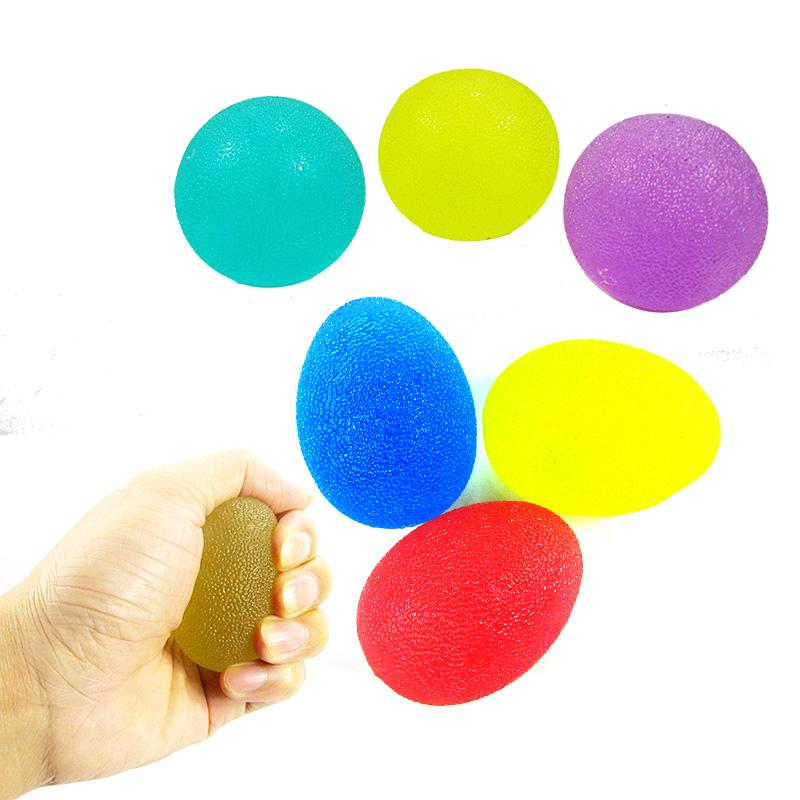 握力器训练手 握力球硅胶男式健身器材握力圈手指训练器
