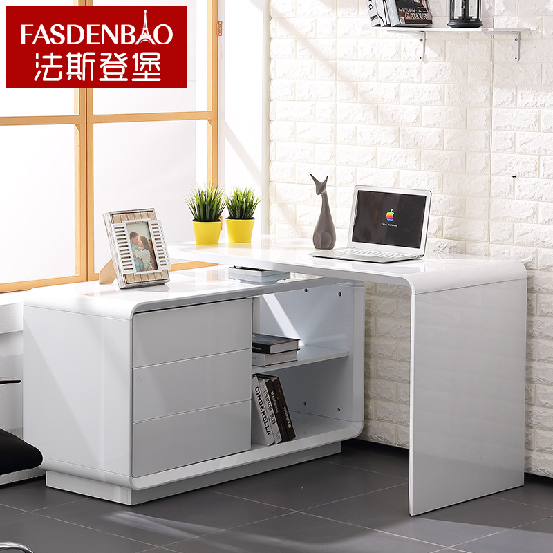 法斯登堡现代简约转角电脑桌X112
