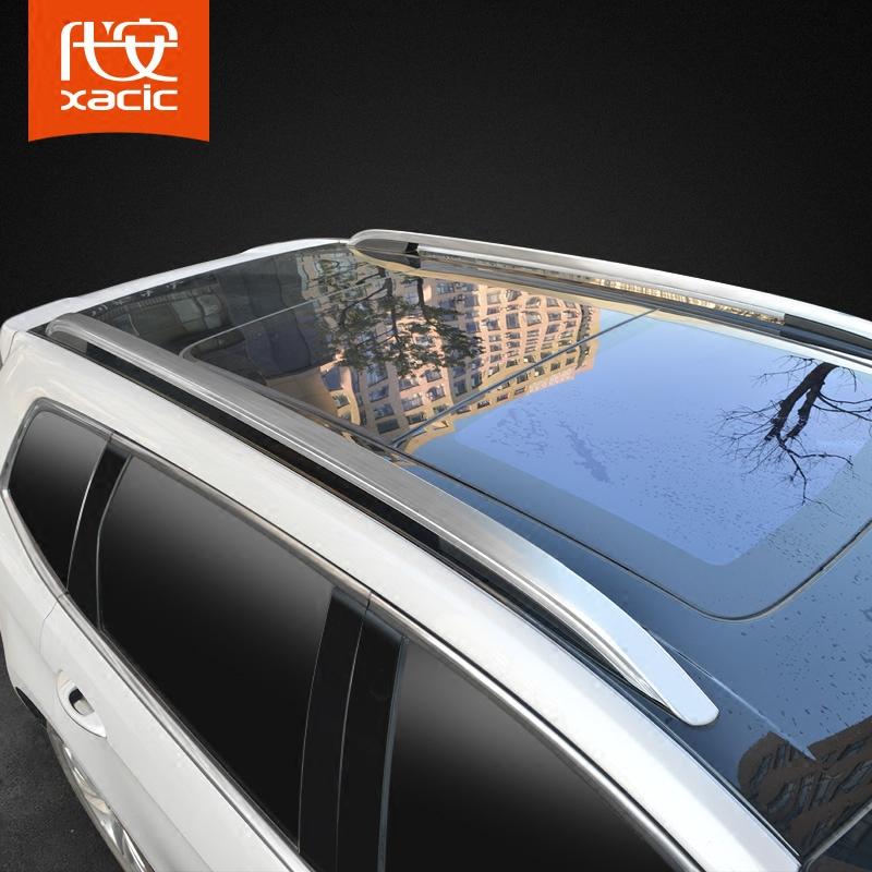 锐界行李架 15-18款福特锐界车顶架铝合金改装饰专用新锐界旅行架