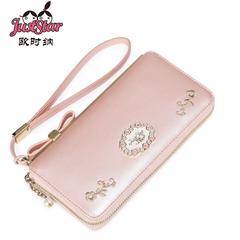 欧时纳手拿包长款钱包时尚可爱女士大容量多卡位拉链手包