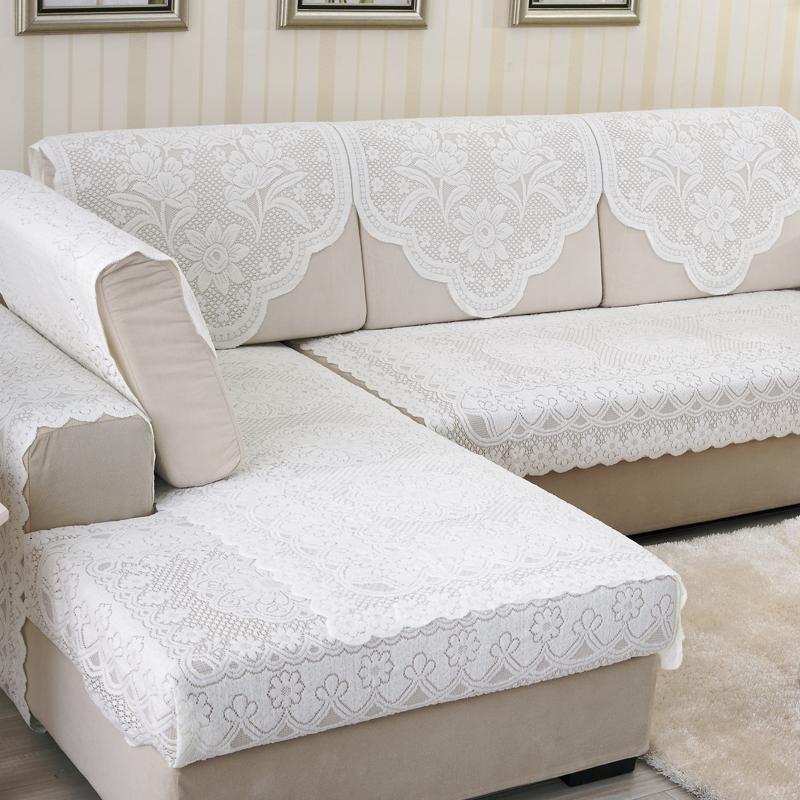 西瓜藤蕾丝布艺沙发垫