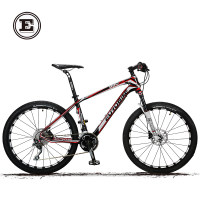 欧拜克碳纤维27/30速山地自行车油压碟刹反转气叉男女越野山地车