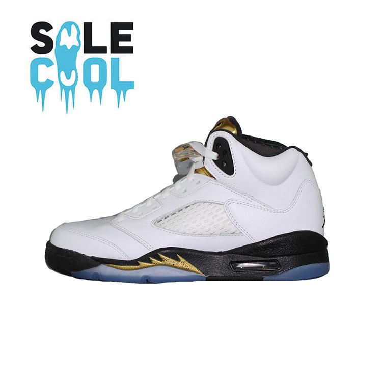 耐克Nike Air Jordan 5 Retro AJ5 乔5女子篮球鞋440888-133-115