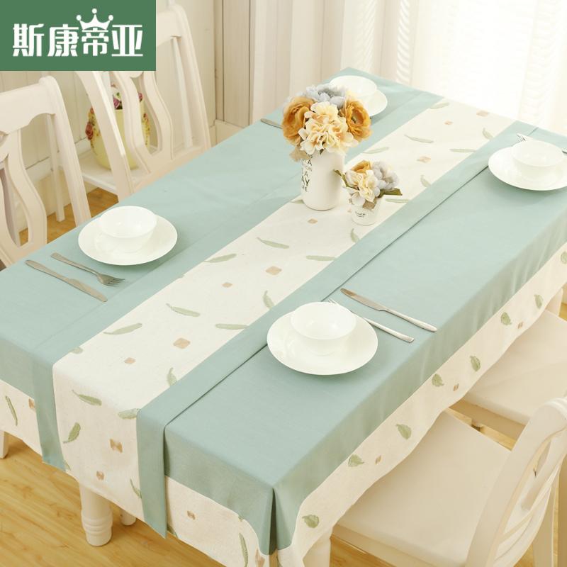 斯康蒂亚桌布餐桌布zb154784