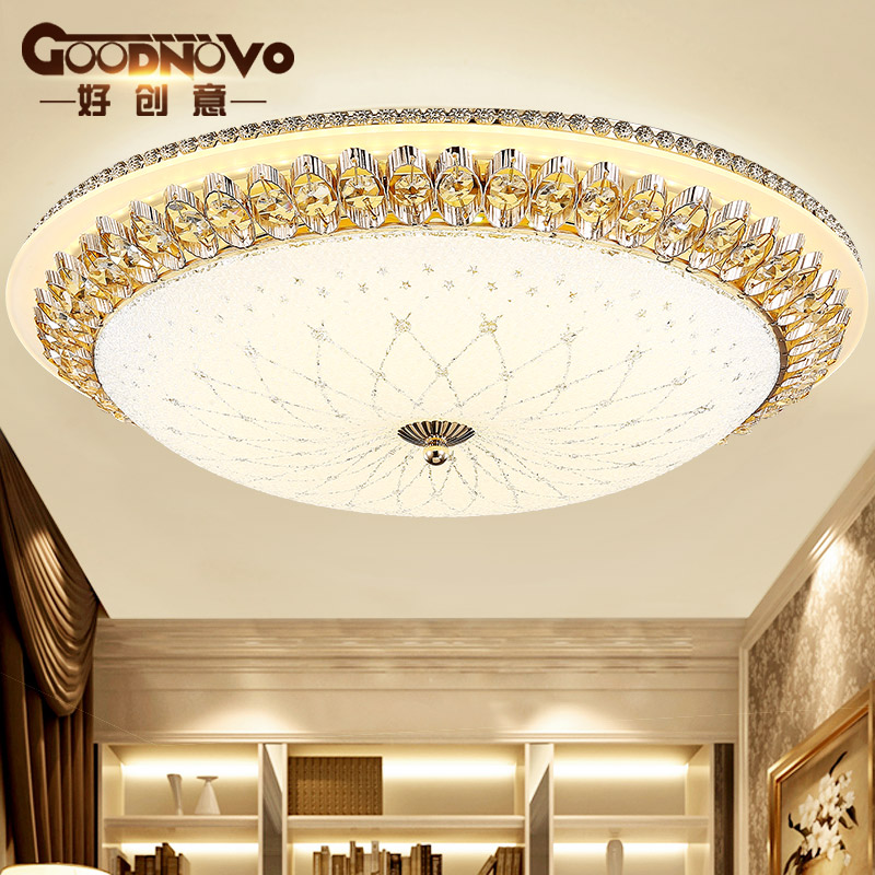 Goodnovo欧式水晶圆形吸顶灯XD41080