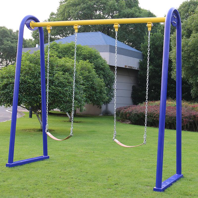 室外健身器材双位双人秋千户外路径儿童设施公园社区健身器材包邮